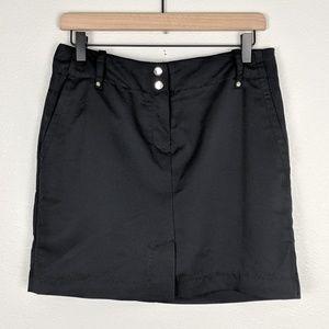 Izod Black Swingflex Golf Skort NWT Size 6